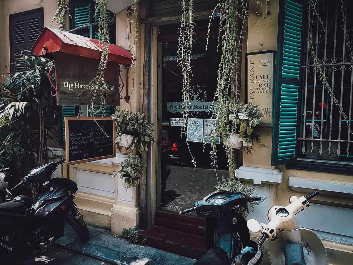 The Hanoi Social Club, Vietnam