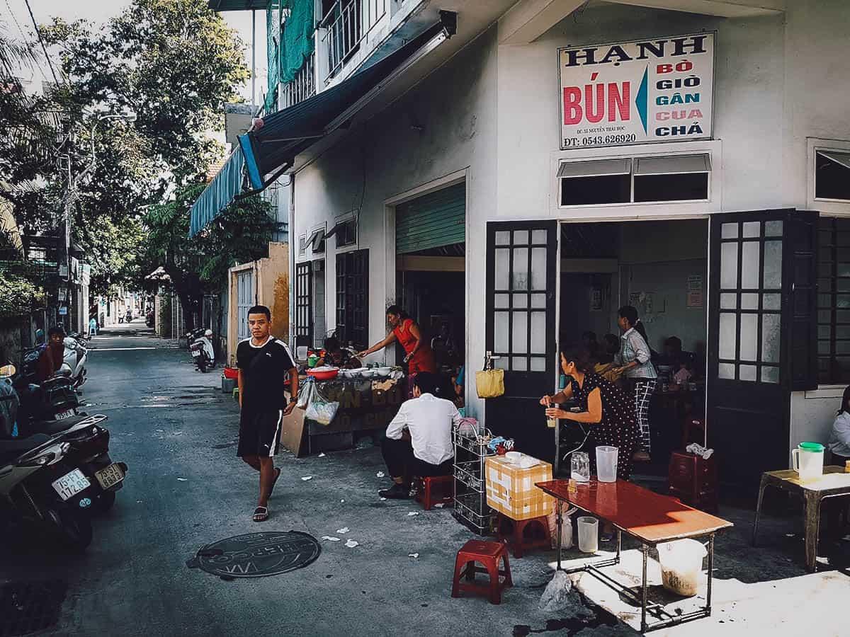 Bun Bo Hue Hanh exterior