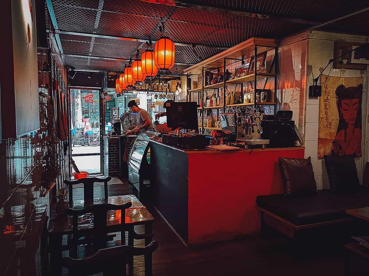Chinatown 125 Cafe, Yangon, Myanmar