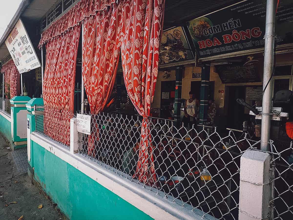 Com Hen Hoa Dong exterior