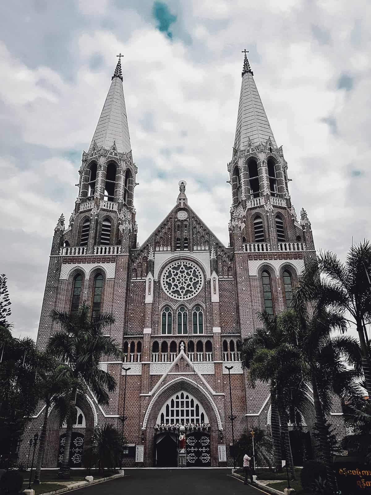 St. Mary's Cathedral, Yangon, Myanmar