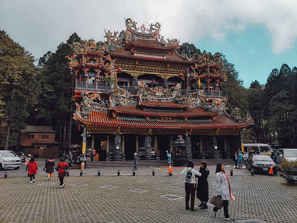 Shouzhen Temple at Alishan National Scenic Area, Chiayi County, Taiwan
