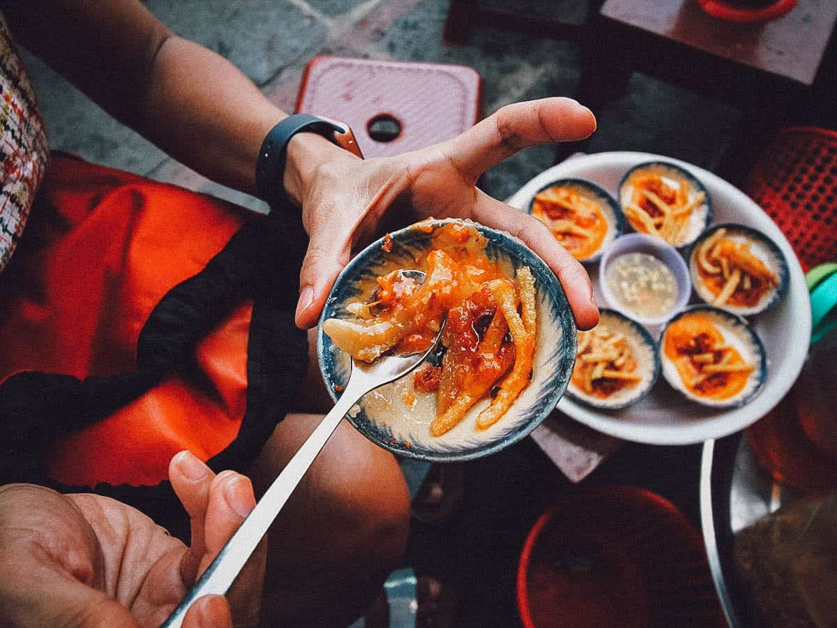 Aunt Bay's Banh Beo in Hoi An, Vietnam
