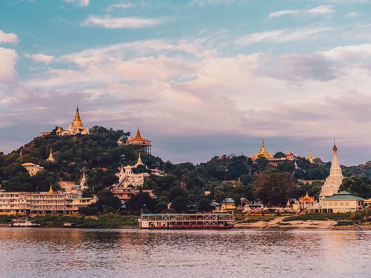 Cruising on the Irrawaddy River