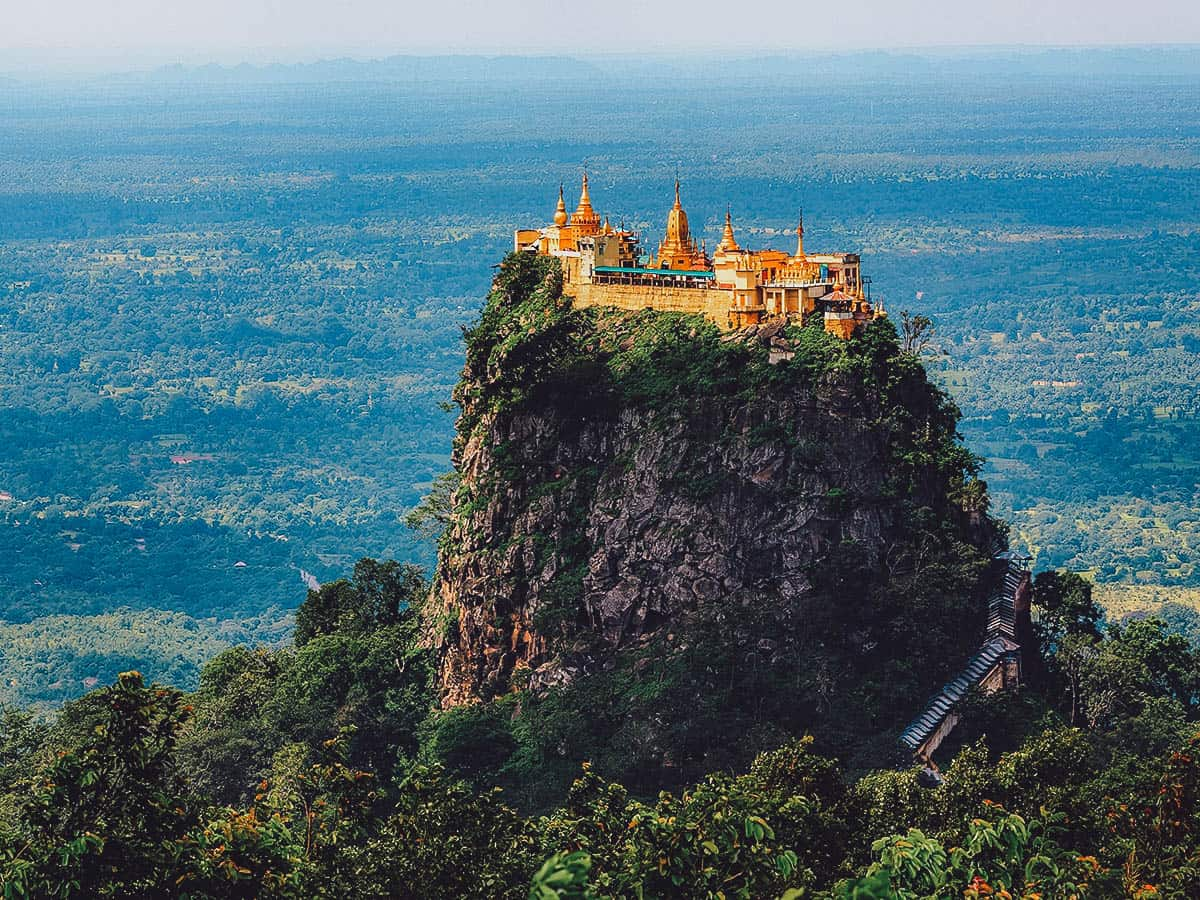 View of Mt. Popa