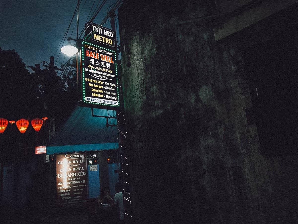 Bale Well Restaurant exterior