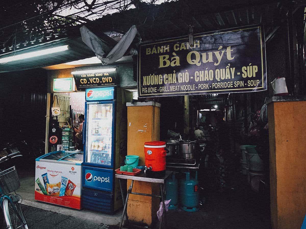 Banh Canh Ba Quyt exterior