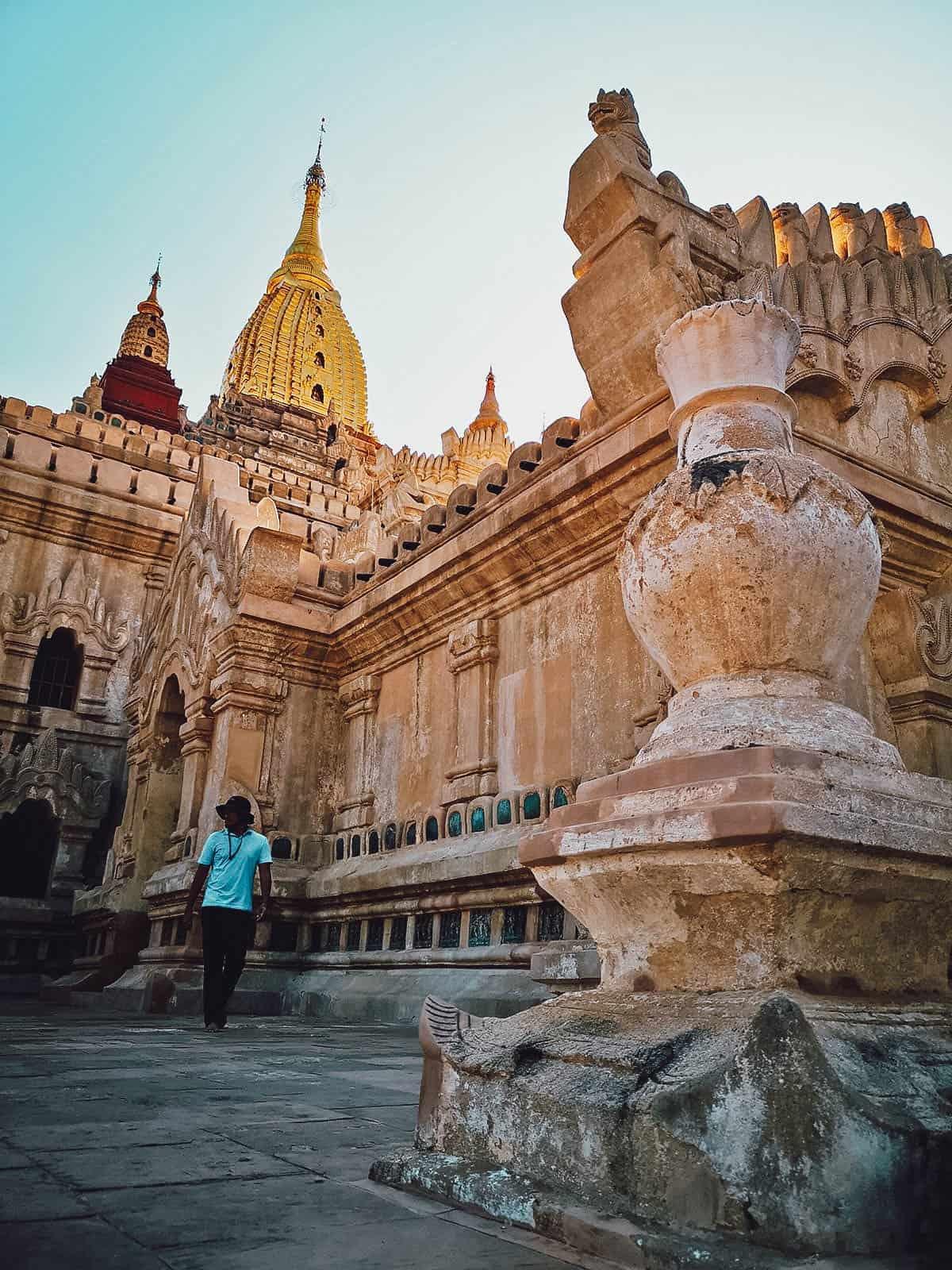 Ananda Pahto, Bagan, Myanmar
