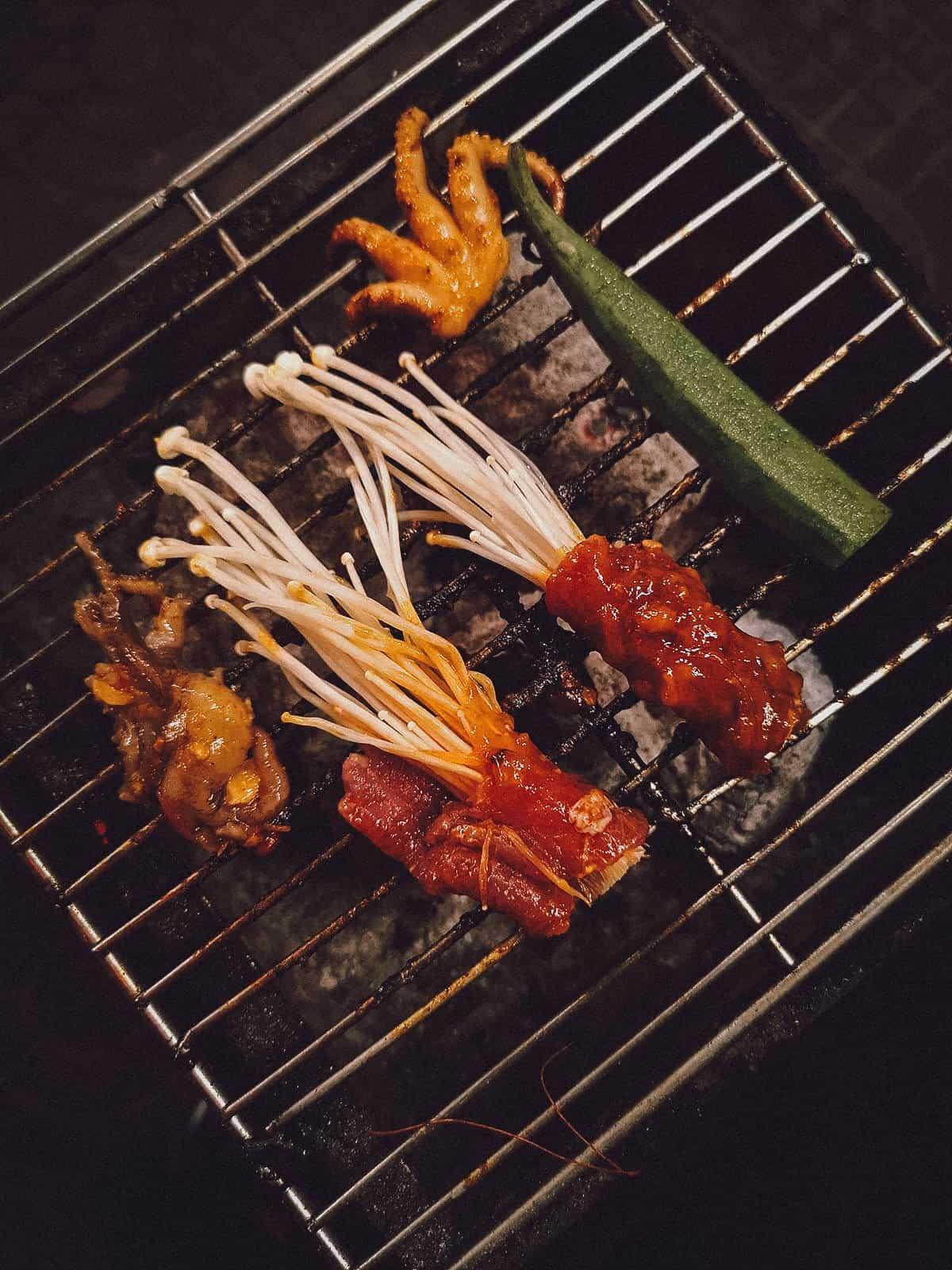 BBQ at Moi in Hoi An, Vietnam