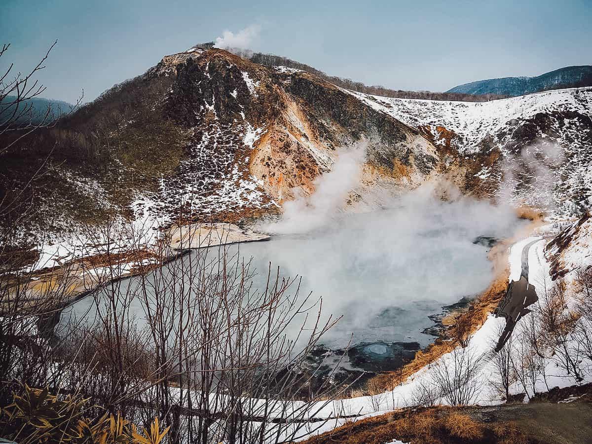 Noboribetsu Hell Valley, Hokkaido, Japan