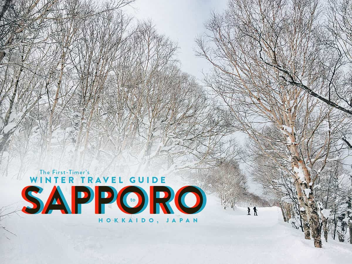 The First-Timer's Winter Travel Guide to Sapporo in Hokkaido, Japan