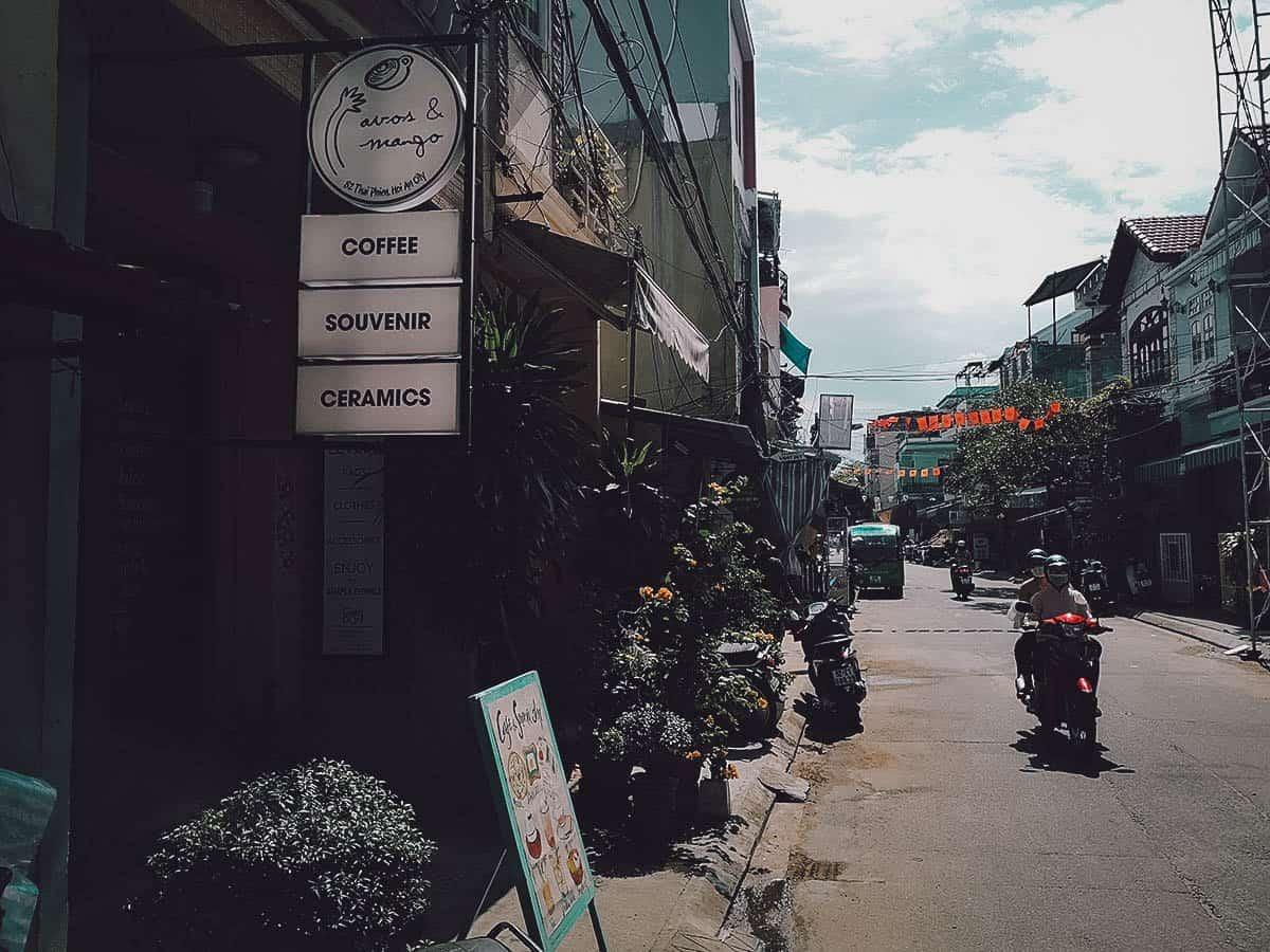 Avos & Mango exterior in Hoi An, Vietnam