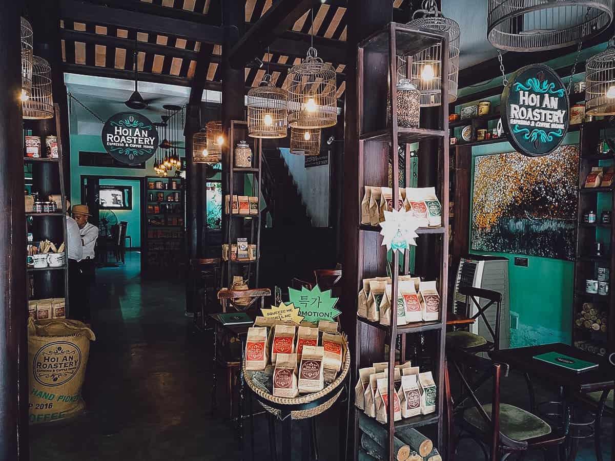 Hoi An Roastery exterior in Hoi An, Vietnam