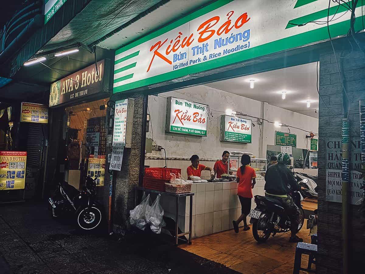 Bun Thit Nuong Kieu Bao exterior