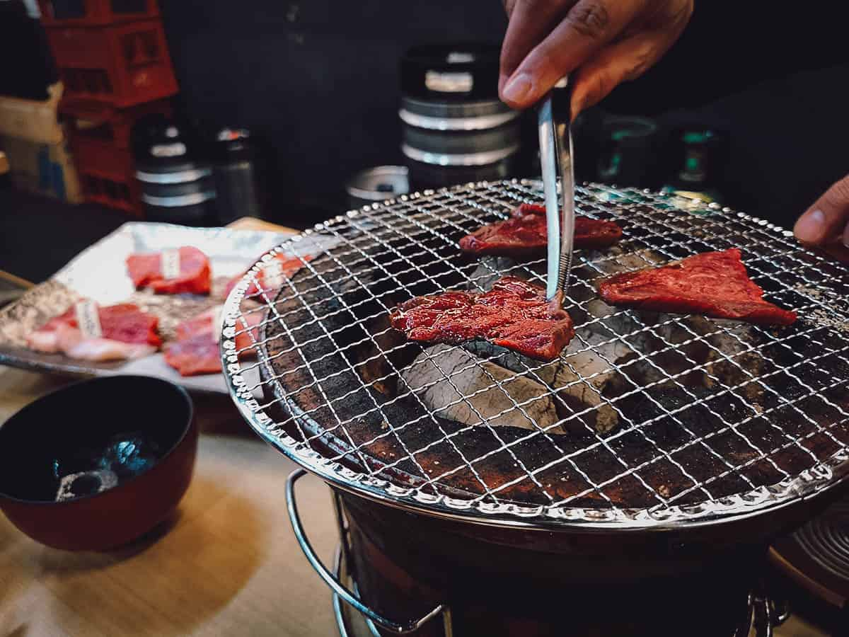 Wagyu yakiniku at Tokyo Night Foodie Tour with Magical Trip