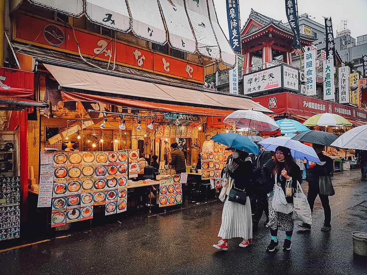 Minatoya exterior