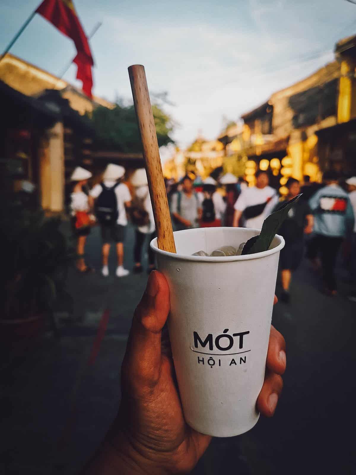 Herbal tea from Mot in Hoi An, Vietnam