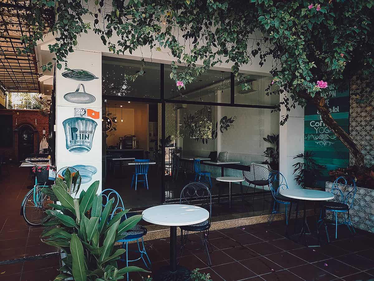 Phin Coffee exterior in Hoi An, Vietnam