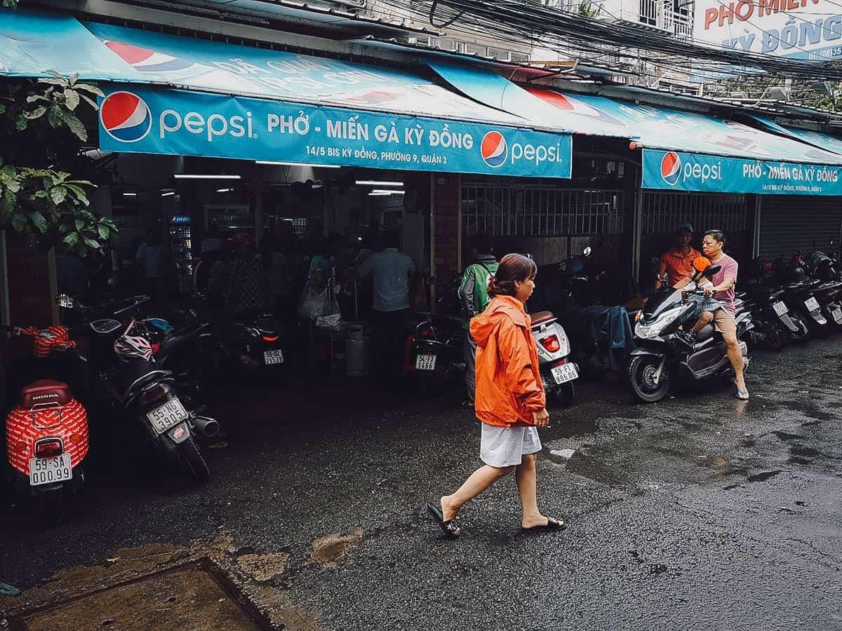 Pho Mien Ga Ky Dong exterior