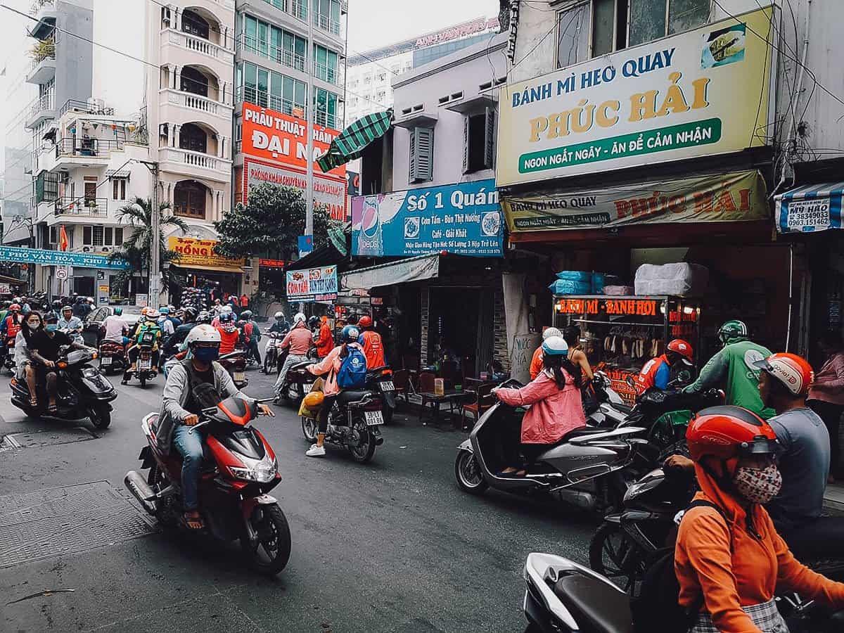 Phuc Hai street food stall