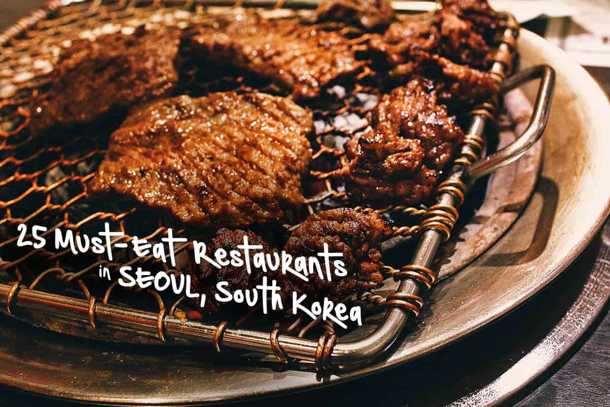 Seoul Food Guide: 25 Must-Eat Restaurants in Seoul, South Korea