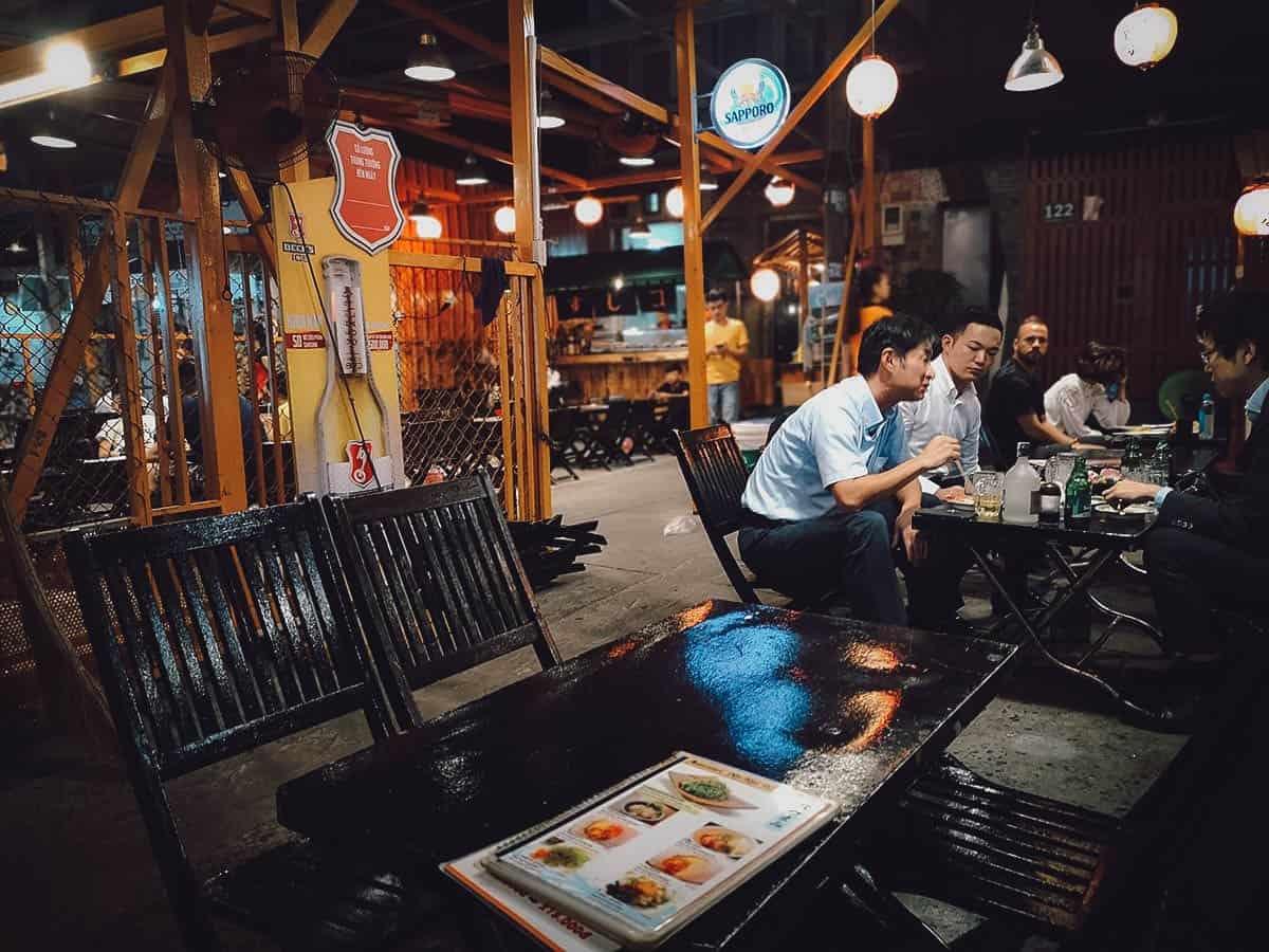 Sushi Ko interior