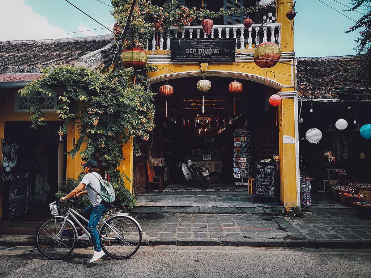 The Chef exterior in Hoi An, Vietnam