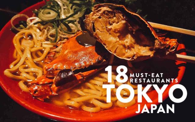 Tokyo Food Guide: 18 Must-Try Restaurants