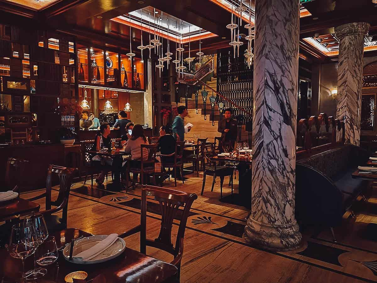 Vietnam House Restaurant interior