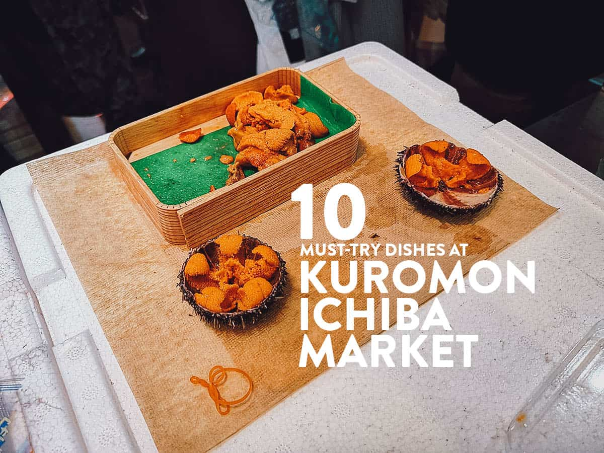 Kuromon Ichiba Market: 10 Must-Try Dishes