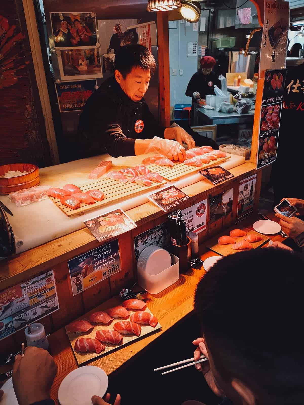 Crab at Kuromon Ichiba Market
