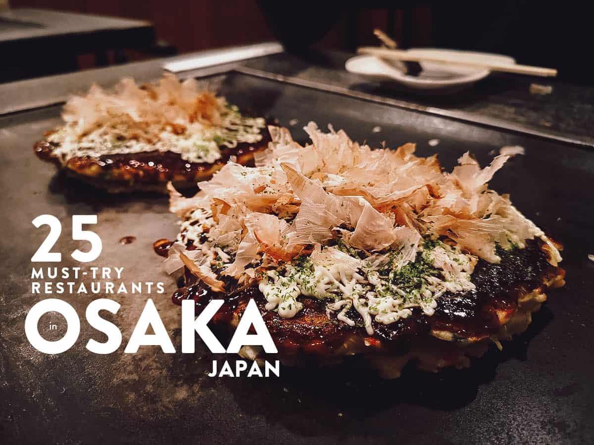 Osaka Food Guide: 25 Must-Try Restaurants