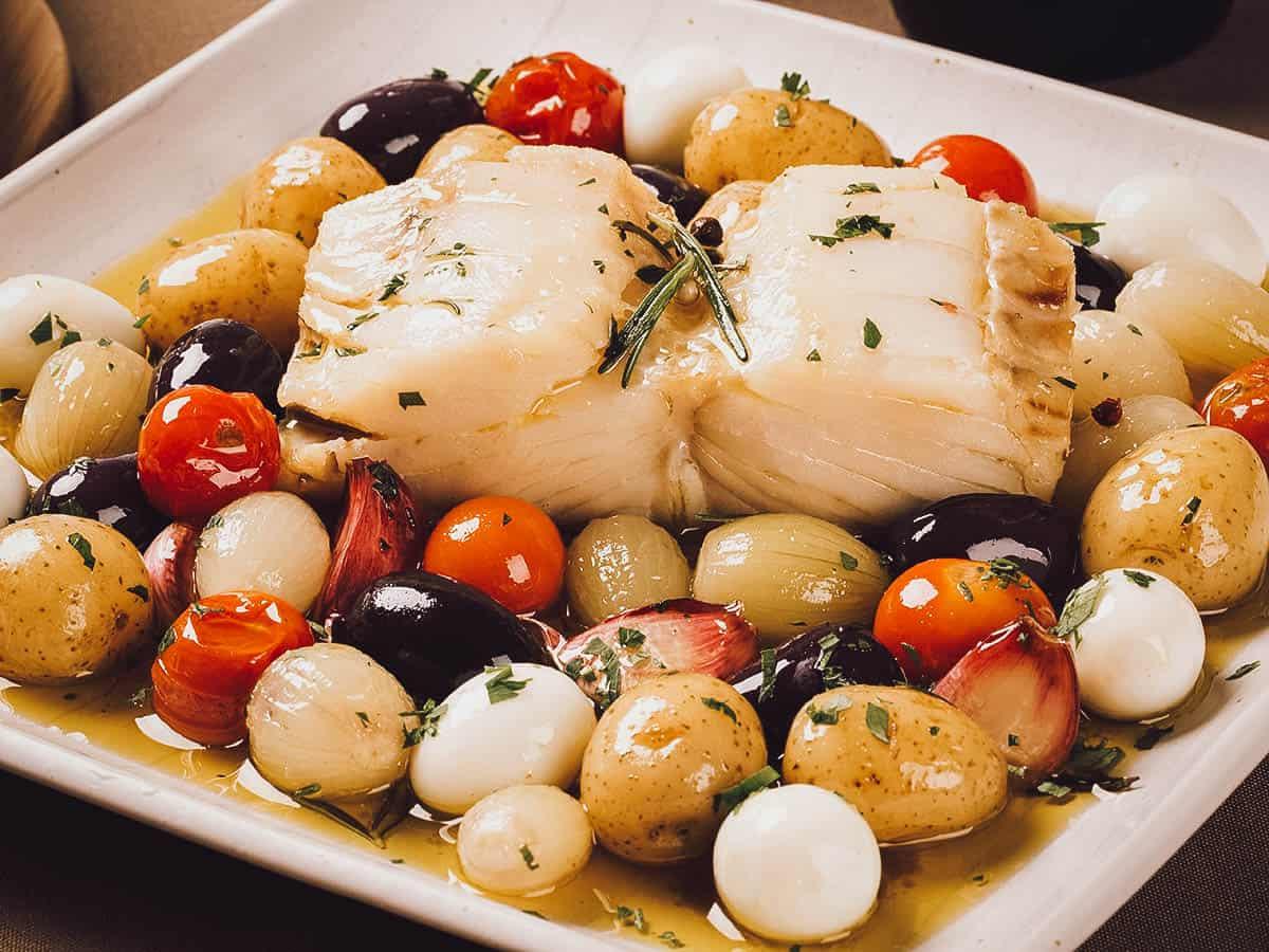 Bacalhau dish
