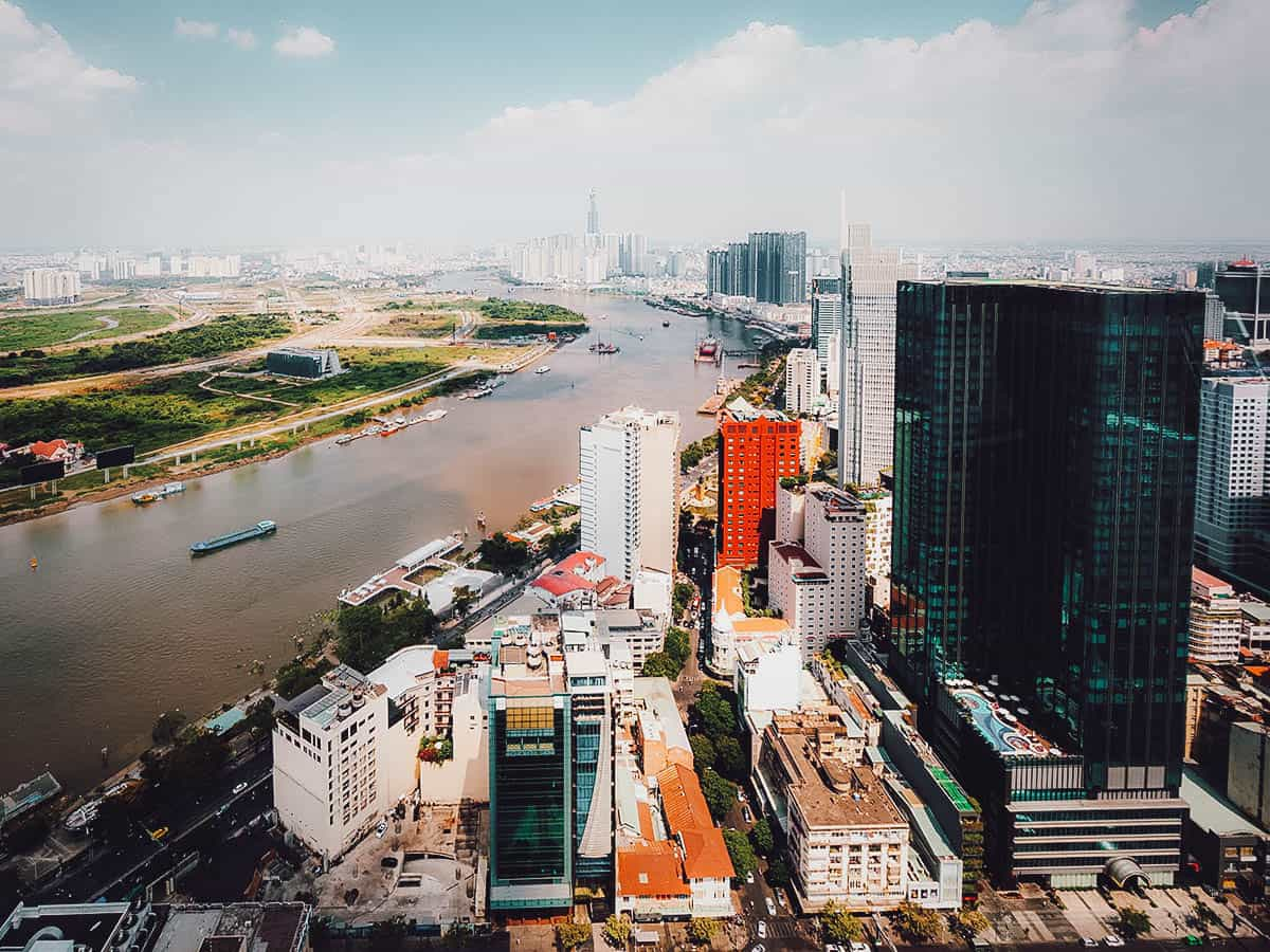 View from Saigon Skydeck