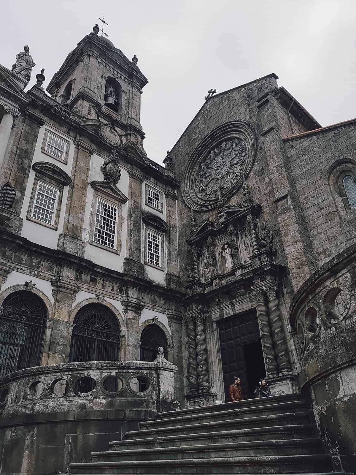 Church of Sao Francisco in Porto, Portugal