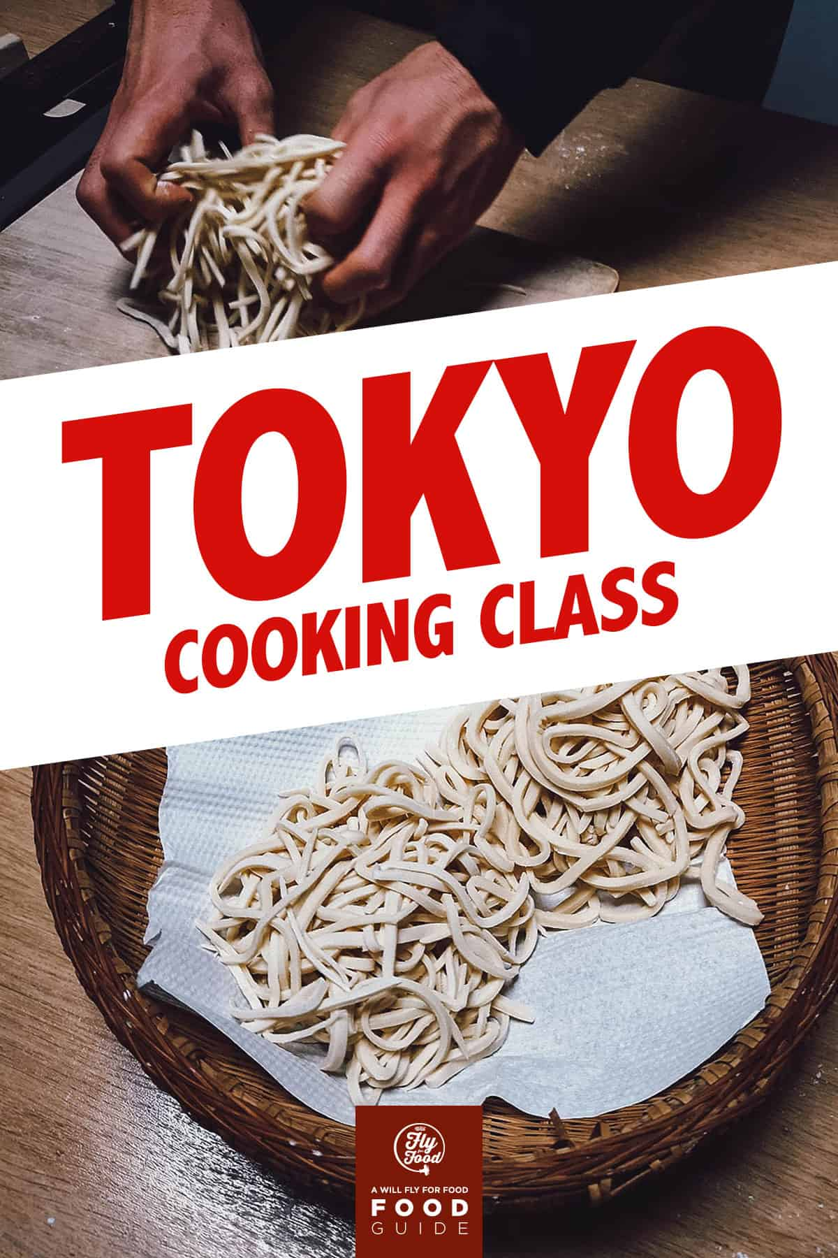 Making udon in Tokyo
