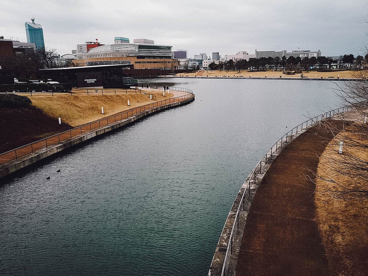 Kansui Park in Toyama