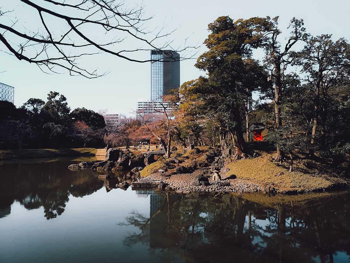 Koishikawa Korakuen in Tokyo, Japan