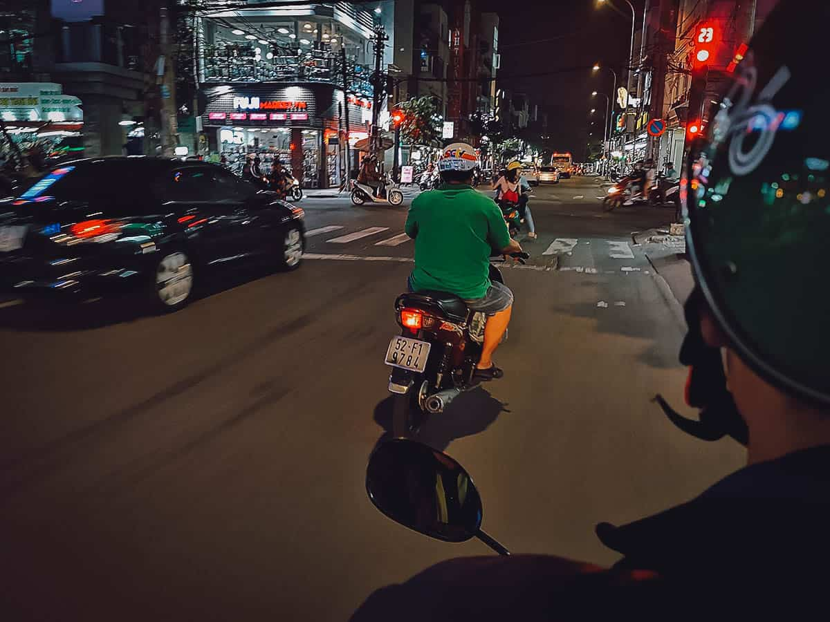 Motorbike tour in Ho Chi Minh City