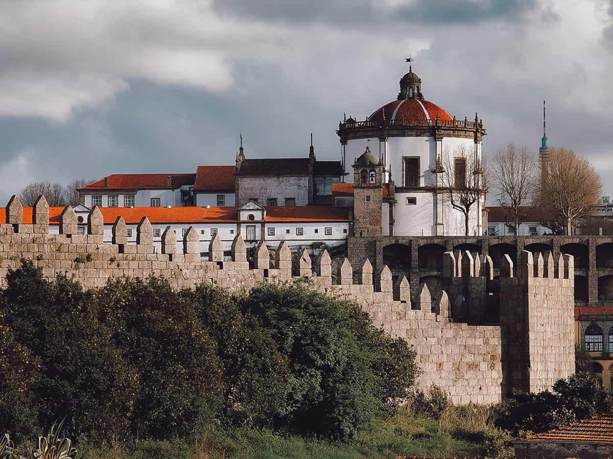 Muralha Fernandina in Porto, Portugal