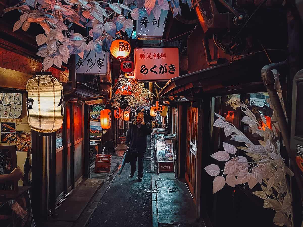 Piss Alley in Shinjuku