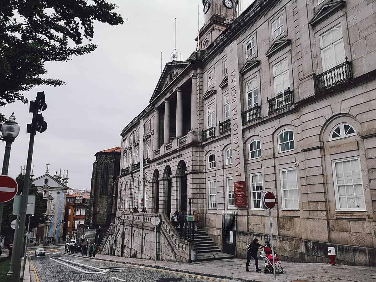 Palacio da Bolsa in Porto, Portugal