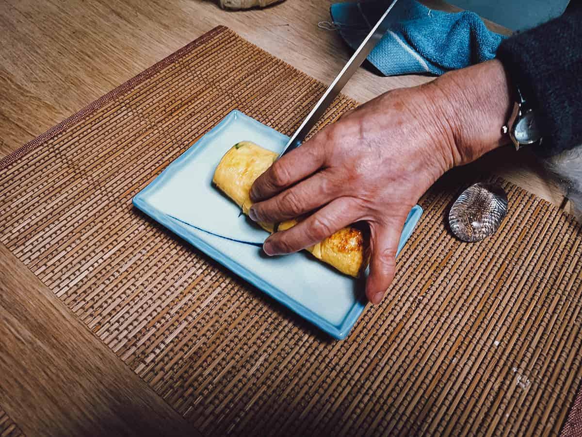 Making tamago