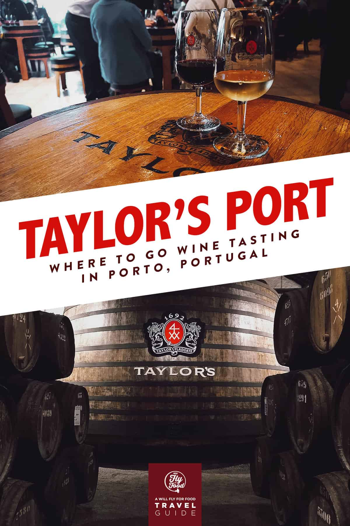 Taylor's Port Winery in Porto