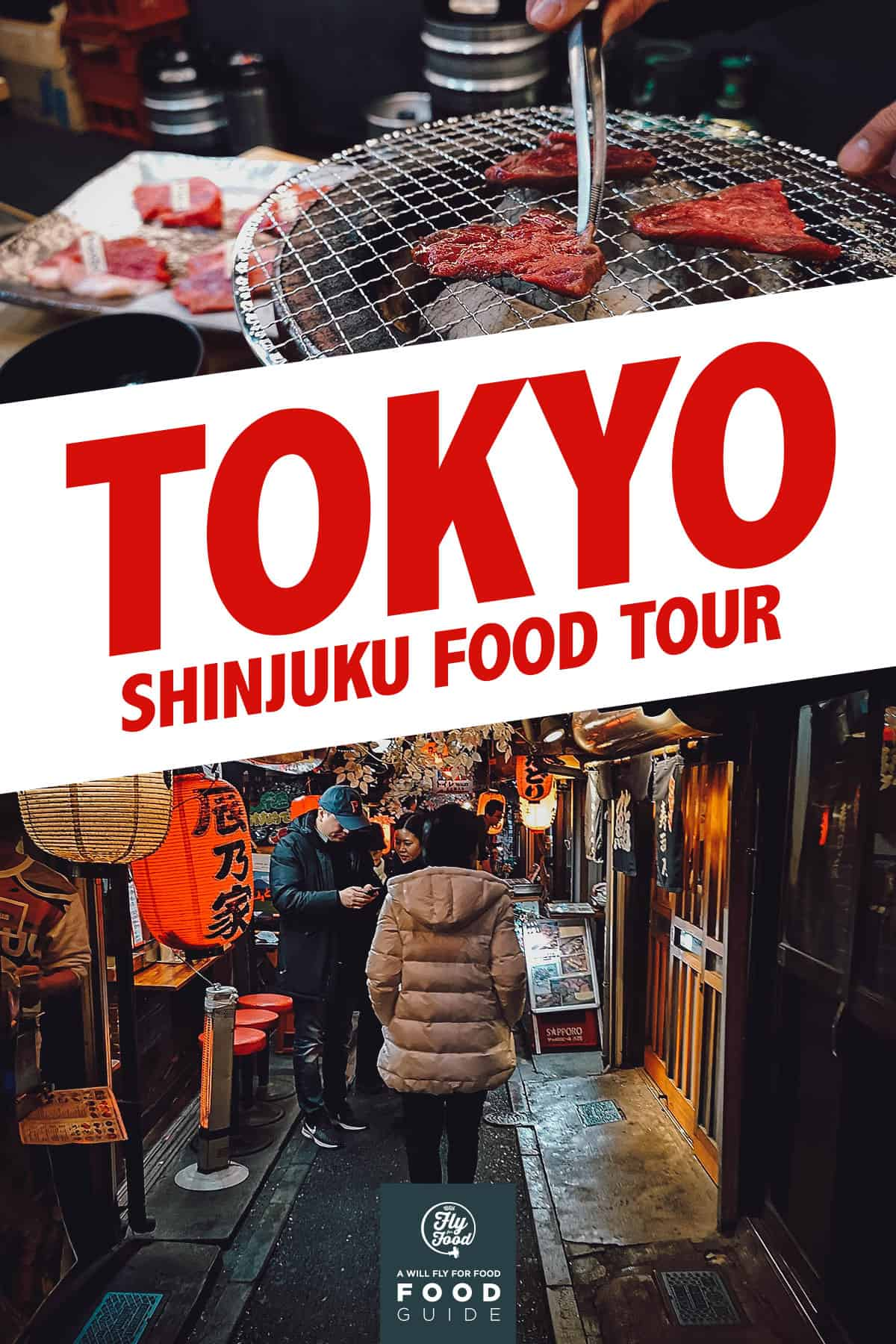 Shinjuku night food tour