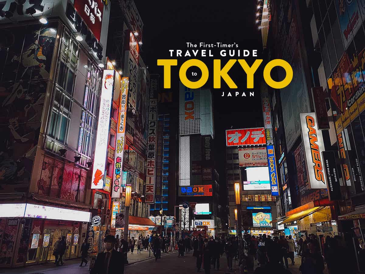 The First-Timer's Travel Guide to Tokyo, Japan