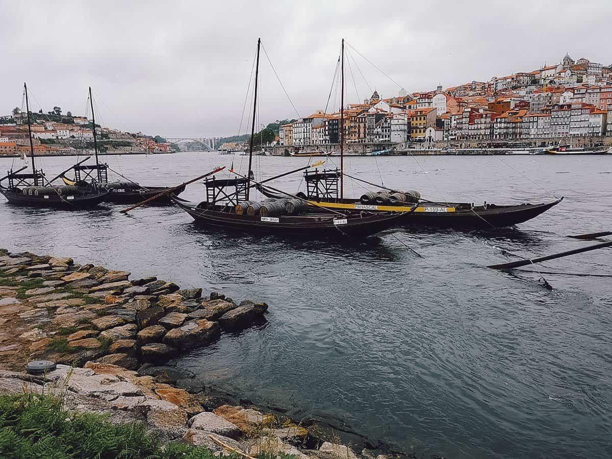 Vila Nova de Gaia in Porto, Portugal