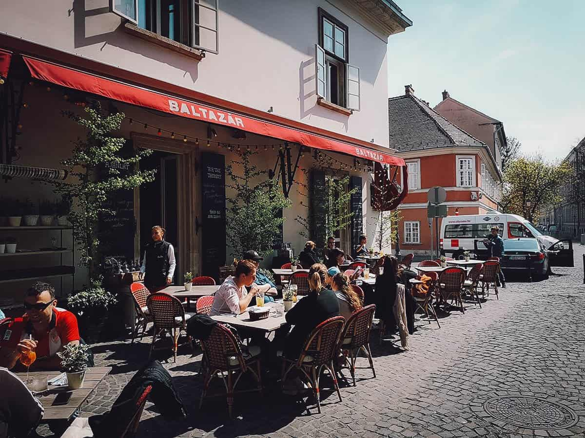 Baltazar Grill and Wine Bar in Budapest, Hungary