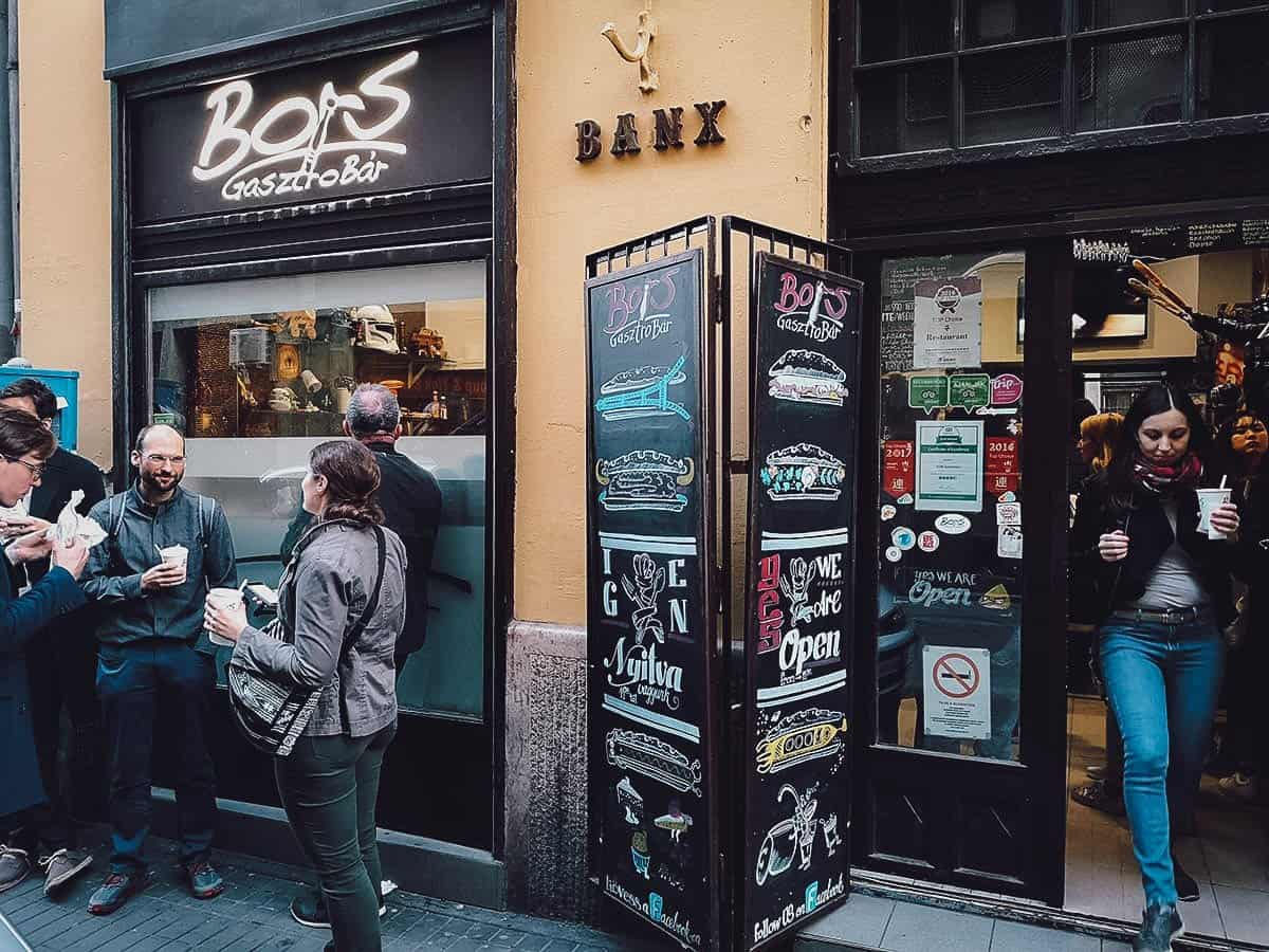 Bors GasztroBar in Budapest, Hungary