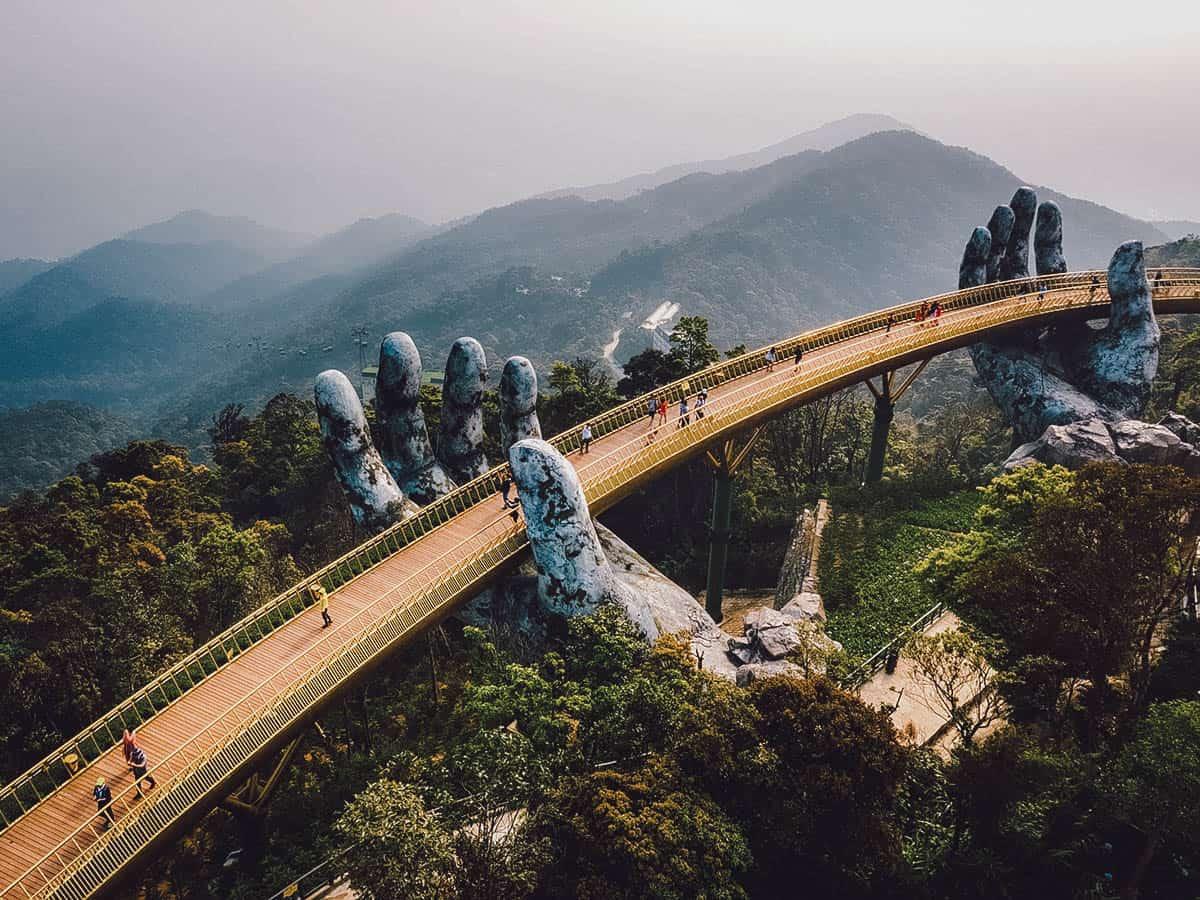 Golden Bridge, Da Nang, Vietnam